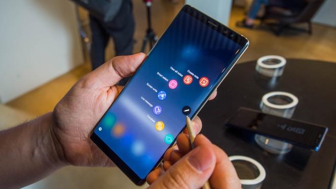 Galaxy Note9 xuat hien tron ven trong clip ro ri hinh anh