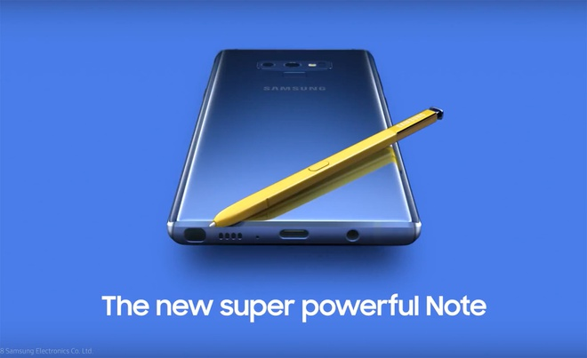 Galaxy Note9 lo dien hoan toan truoc ngay ra mat hinh anh