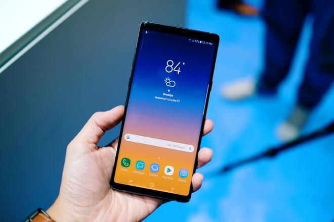Trai nghiem nhanh Galaxy Note9 vua ra mat hinh anh