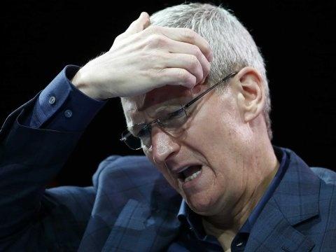 Chuyen gi dang xay ra voi Apple? hinh anh