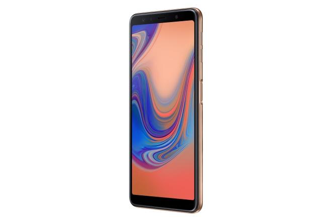 Samsung ra mat Galaxy A7 2018 voi 3 camera sau, chip loi tam hinh anh 5