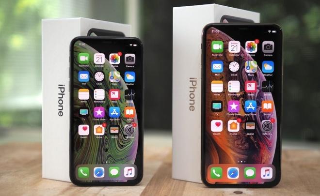 Apple noi doi ve pin iPhone XS, XS Max hinh anh