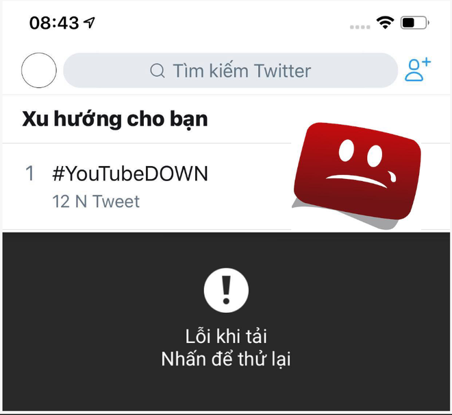 Ung dung YouTube tren mobile te liet hinh anh
