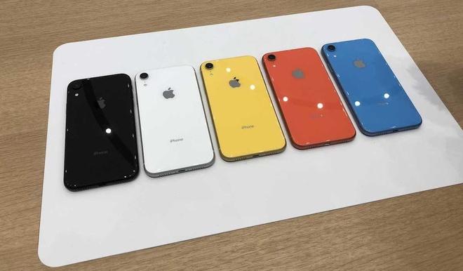 iPhone XR mo ban, ban mau vang va coral gay sot hinh anh
