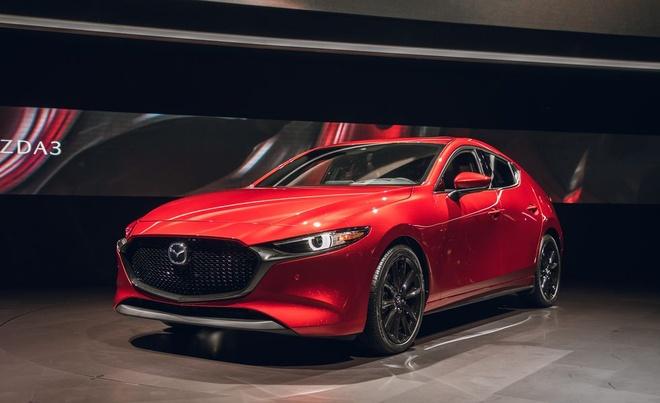Chi tiet Mazda3 2019 - thiet ke toi gian va cao cap hinh anh