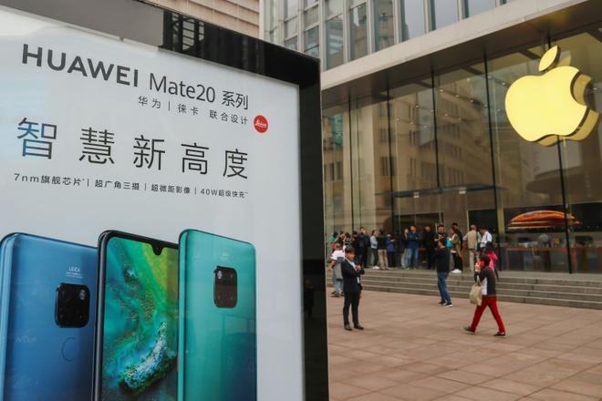 Tra dua cho Huawei, nguoi dung TQ keu goi tay chay iPhone hinh anh
