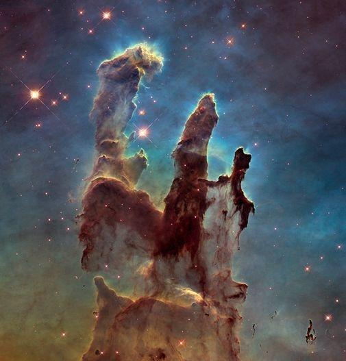 Hinh anh vu tru chup boi kinh Hubble anh 1