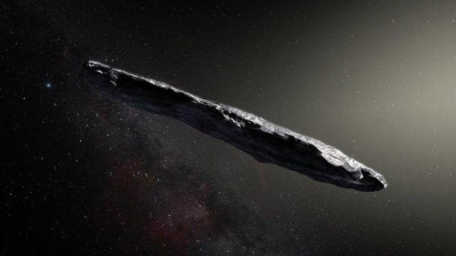 Vat the hinh dieu xi ga Oumuamua anh 1
