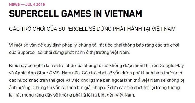 Nha phat trien Clash of Clans rut khoi Viet Nam anh 2
