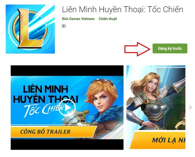 Cach tai Lien Minh Huyen Thoai mobile anh 1