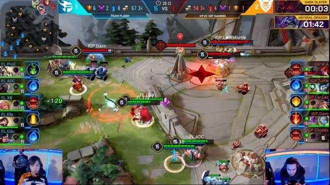 Team Flash that bai kho hieu truoc Dai Loan hinh anh