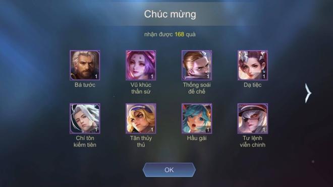 Loi Lien Quan gui trang phuc,  tuong,  xe cho nguoi choi anh 3