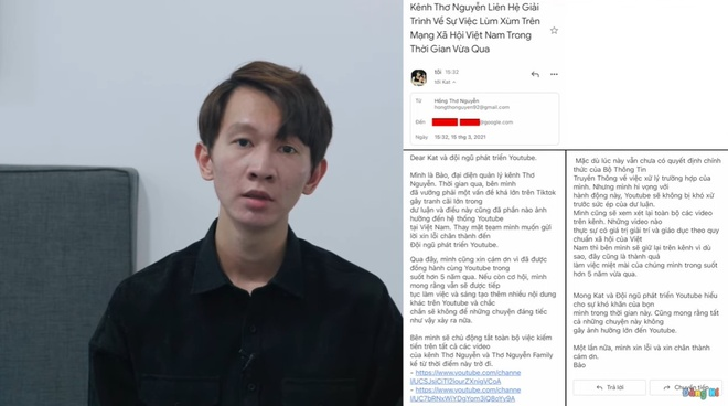 Tho Nguyen xin loi anh 1