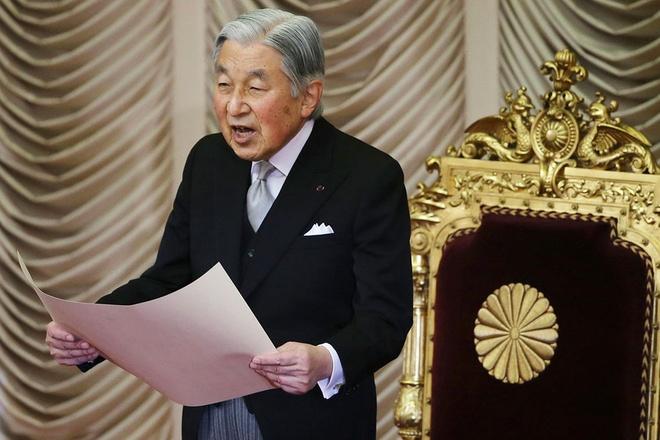 Danh hieu A than va Ngai vang Hoa cuc cua Nhat hoang Akihito hinh anh 1