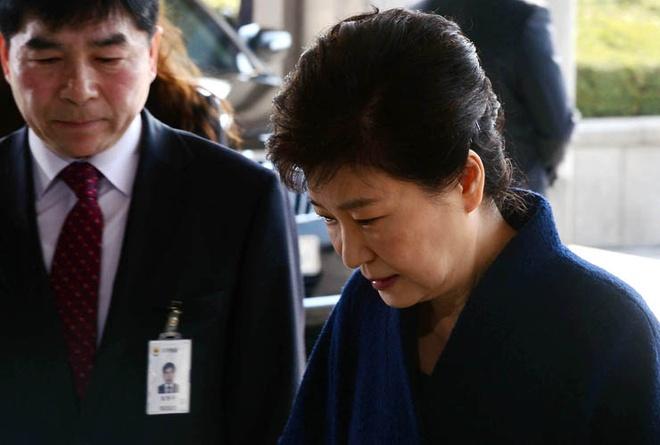 lenh bat giu Park Geun Hye anh 1