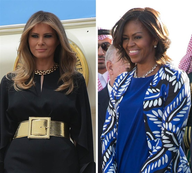 tong thong Trump den Saudi Arabia anh 1