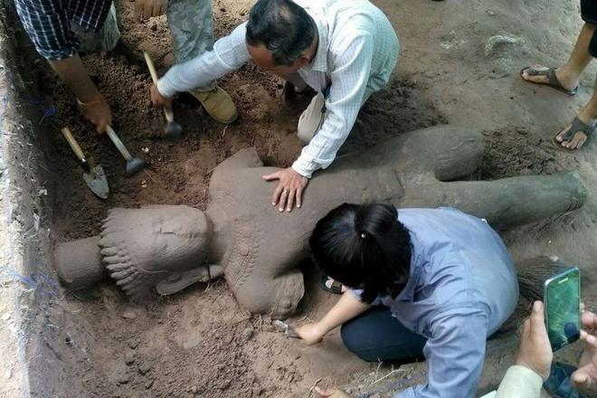 tuong co o Angkor anh 1