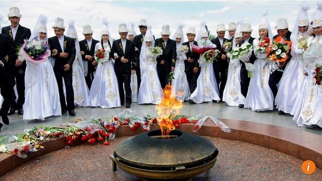 Kyrgyzstan: 20.000 phu nu la nan nhan hu tuc 'cuop vo' moi nam hinh anh
