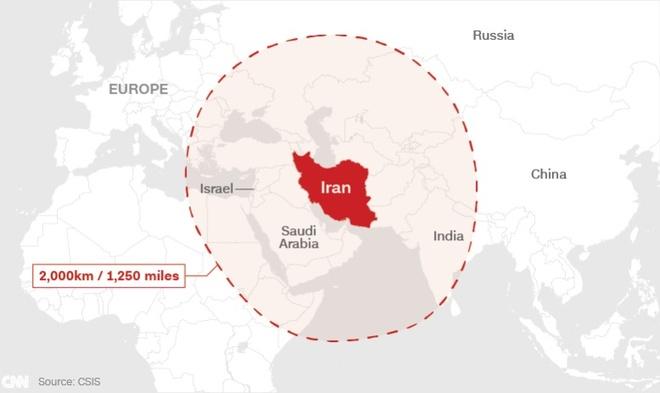 Iran thu thanh cong ten lua dan dao tam ban 2.000 km hinh anh 2