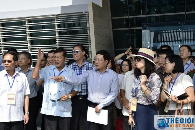 Pho thu tuong Pham Binh Minh chu tri so duyet APEC 2017 hinh anh 1