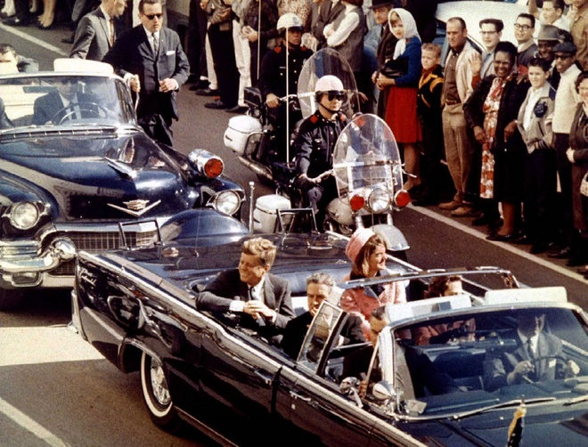 vu am sat tong thong John F. Kennedy anh 1