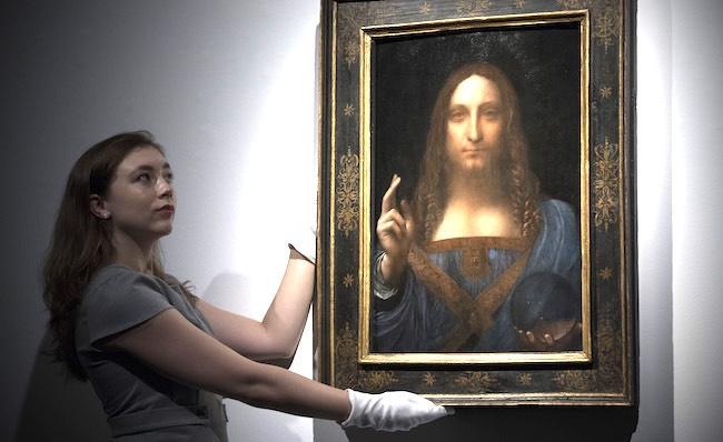 Khoanh khac kiet tac cua Leonardo da Vinci dat muc gia ky luc hinh anh