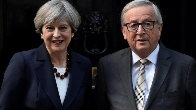 Dam phan Brexit buoc vao thoi khac quyet dinh hinh anh 1