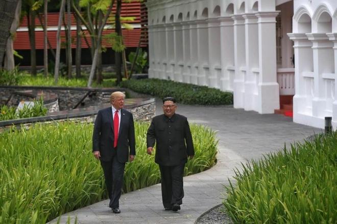 thuong dinh Trump - Kim anh 1
