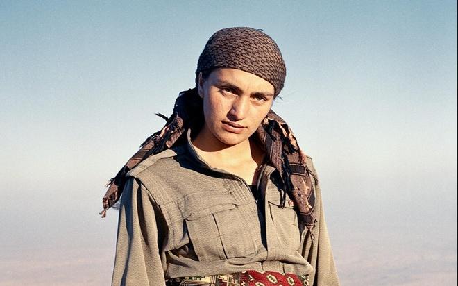 Kurdistan - xu so noi 40% cac chien binh la nu gioi hinh anh