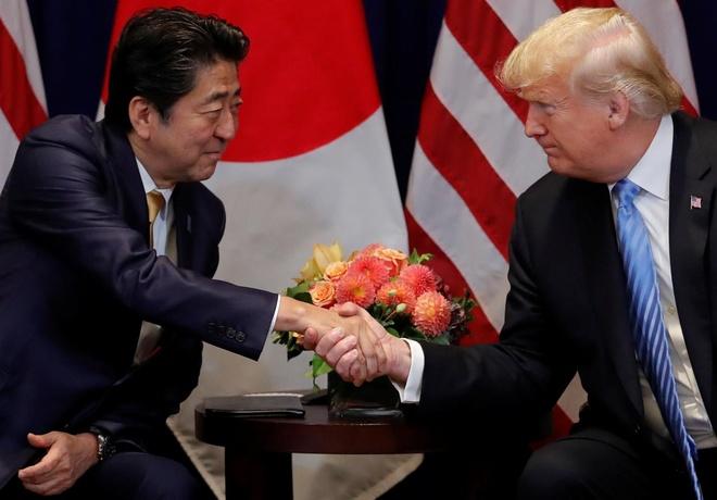 My yeu cau thu tuong Nhat de cu ong Trump cho Nobel Hoa binh hinh anh 1