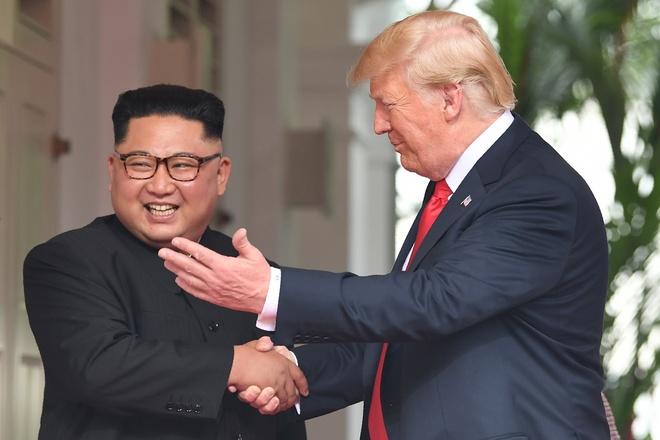 Trieu Tien ky vong 'dot pha lon' trong cuoc gap Trump - Kim o Ha Noi hinh anh