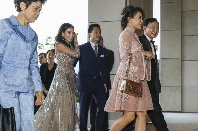 Cong chua Thai Lan xuat hien tai dam cuoi con gai Thaksin o Hong Kong hinh anh 1