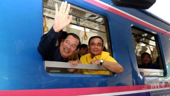 Thu tuong Hun Sen khanh thanh tuyen duong sat Campuchia - Thai Lan hinh anh 1
