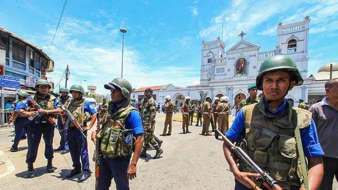 danh bom o Sri Lanka anh 1
