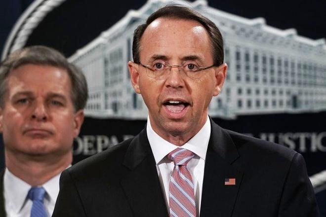 Thu truong Tu phap My tu chuc 2 tuan sau bao cao Mueller hinh anh 1