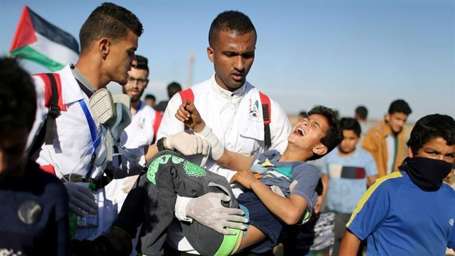Israel hung 200 ten lua ban tu dai Gaza hinh anh 1