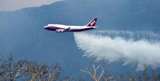 Sieu may bay Boeing 747 toi Bolivia de dap chay rung Amazon hinh anh 1