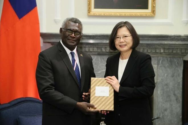 Đài Loan cáo buộc Trung Quốc dùng tiền mua quan hệ với Solomon