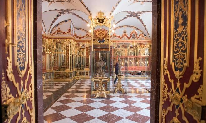 Kho báu 1 tỷ euro bị đánh cắp ở bảo tàng ở Đức
