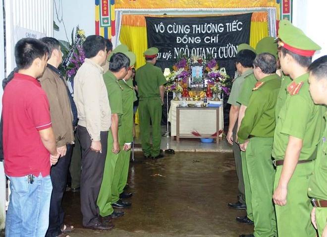 Thuong tuong Pham Dung lam viec voi Cong an Dak Lak ve vu no hinh anh 2