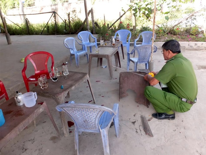 Thanh nien ngao da chem dai uy cong an hinh anh 2