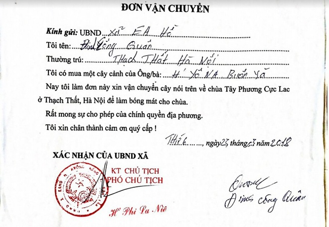Ba cay khung cho tren quoc lo anh 2