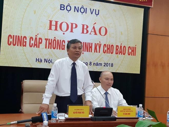 Bo Noi vu noi ve viec sap xep bo may cua Bo Cong an hinh anh