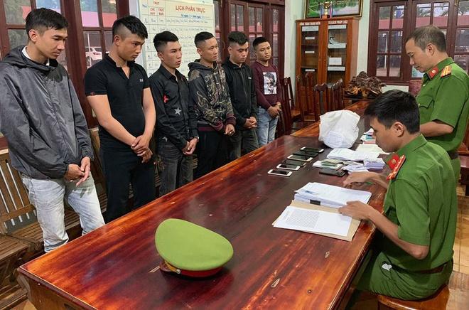 Bat 6 Thanh Nien Cho Vay Nang Lai O Dak Lak Hinh Anh 1