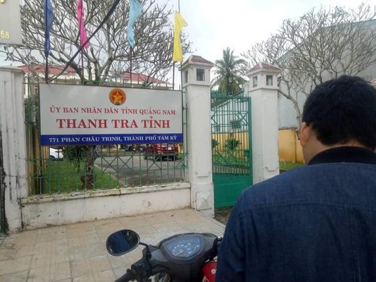 Pho chanh Thanh tra tinh Quang Nam tu vong sau tru so hinh anh