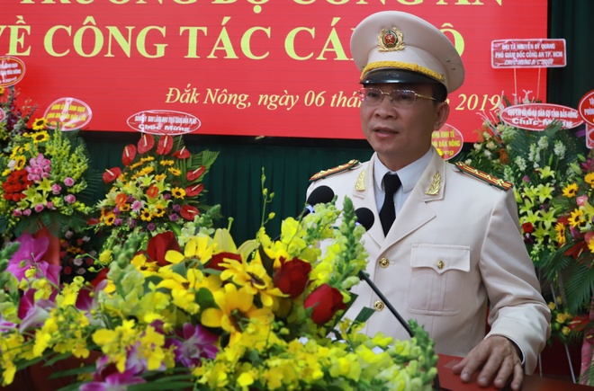Dai ta Ho Van Muoi lam Giam doc Cong an tinh Dak Nong hinh anh 1