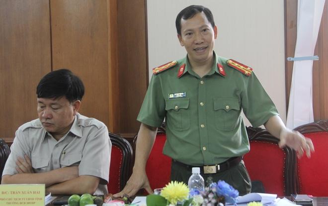 Dai ta Le Van Tuyen lam Giam doc Cong an tinh Dak Lak hinh anh 1