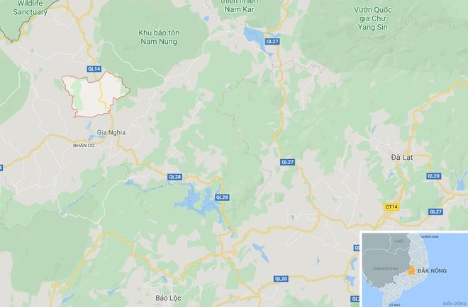 5 oto tong nhau, duong Ho Chi Minh un tac keo dai hinh anh 3 map_daknong_jpg3.jpg
