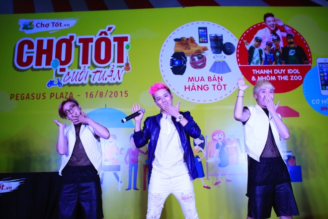 Thanh Duy Idol khuay dong cho phien cuoi tuan hinh anh