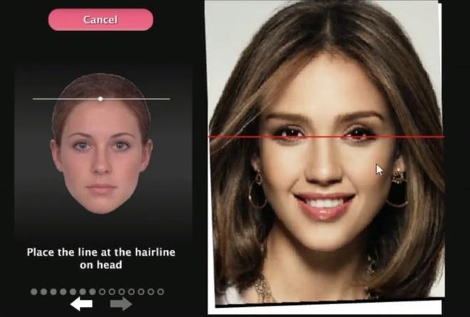 Website giúp người dùng chấm điểm sắc đẹp
